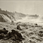 Below Willamette Falls - 26 x 20 -  Photographic Print