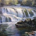 Dougan Falls, Washougal River  30 x 24 - Oil