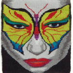 Sandy Kennard - Butterfly-Opus 3 - 8 x 8 - Tapestry