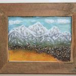 Santiam Pass - 28 x 24 - Fused Glass