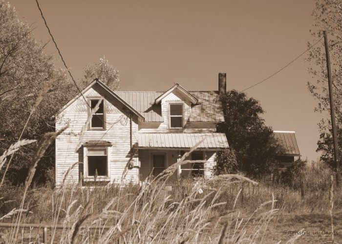 Abandoned House - 11 x 13 - Photography