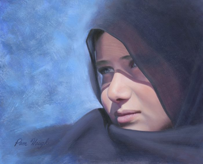 Merafat Remembered - 18 x 15 - Oil