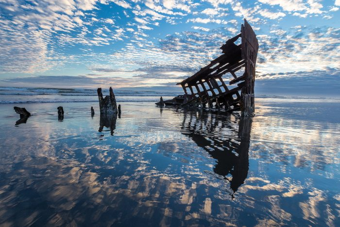 Peter Iredale in Blue - 24 x 16 - Photography