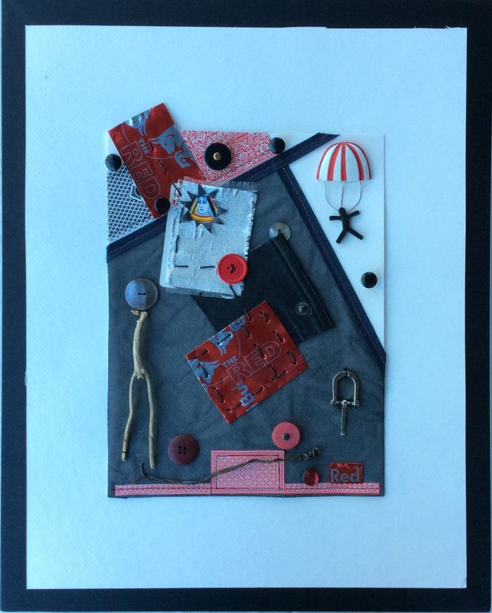 Red Queen 2 - 14 x 18 - Assemblage