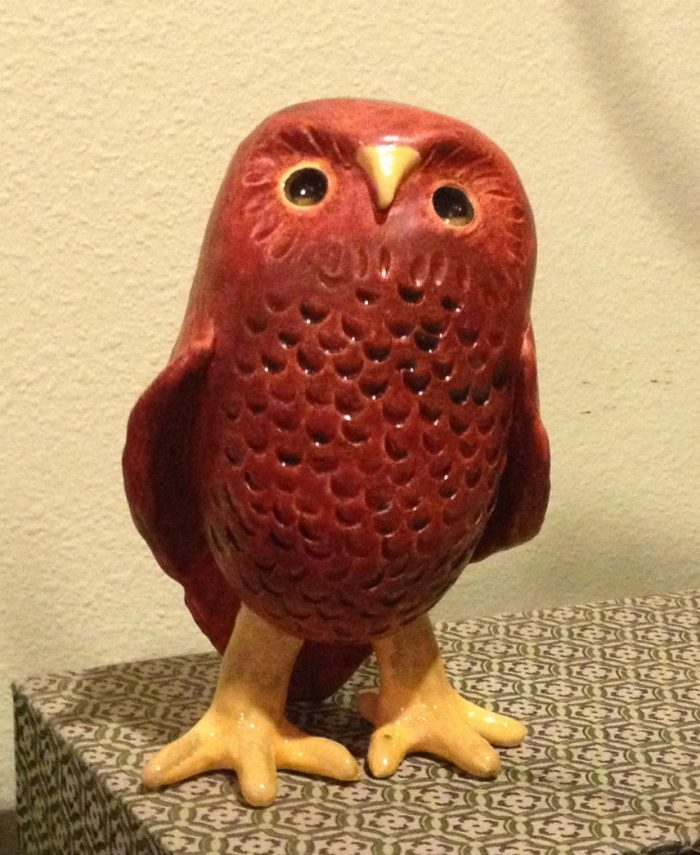 Red Owl - 3 x 7 - Clay