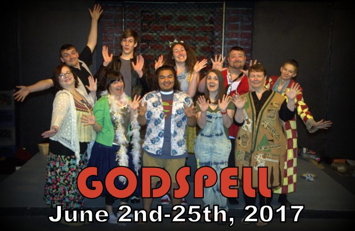 a review of godspell written by john michael tebelak and produced by gainesville alliance theatre