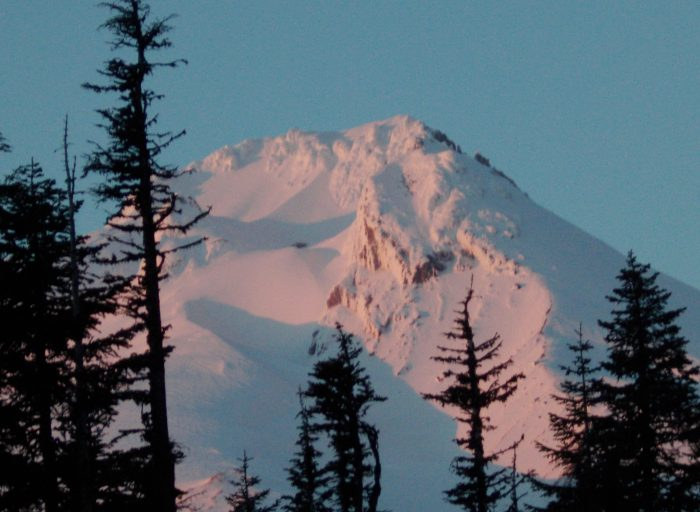 Sunset on Mount Hood - 8 x 10 - Photography