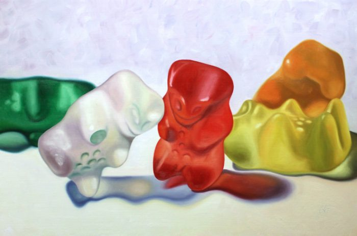Haribo Gummies - 20 x 30 - Oil