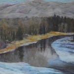 Eastward from the Methow - 14 x 11 - Pastel