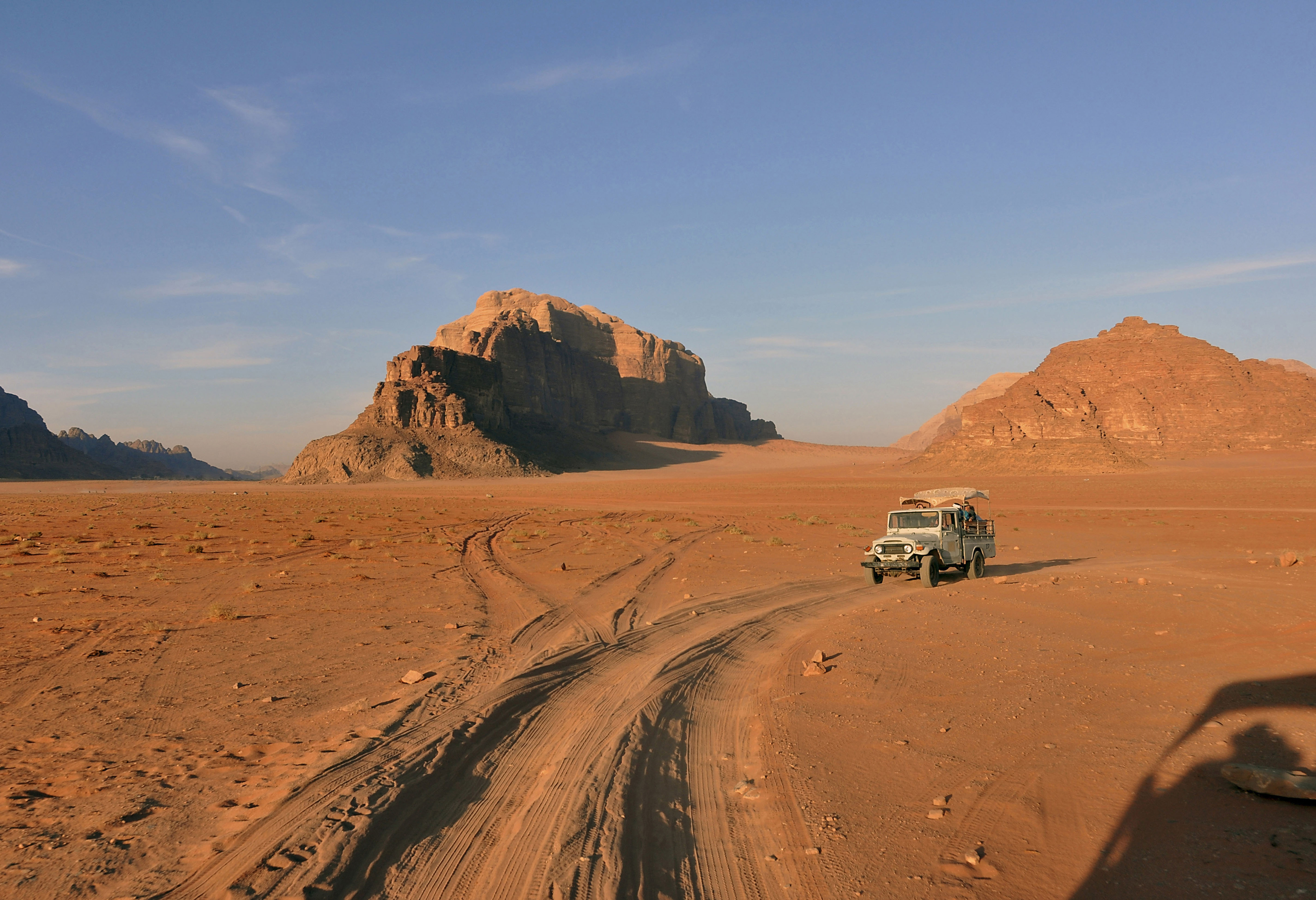 Wadi Rum Jordan at Sunset - 19 x 13 - Photography