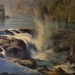 Willamette Falls from Promenade - 28 x 22 - Oil thumbnail