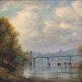 Willmaette Falls and I-205 Bridge - 30 x 24 - Oil thumbnail