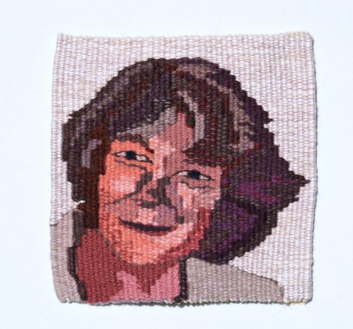 Patricia (Patricia Bugas-Schramm) - 6 x 6 - Handwoven Tapestry