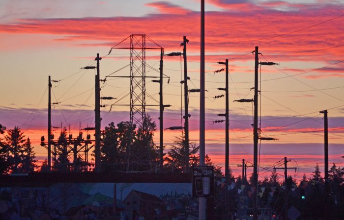 Electric Sunset - 8 x 10 - Photography