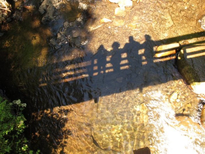 Shadows from the Bridge - 22 x 18 - Photography