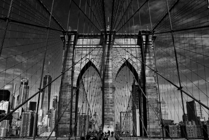 The Bridge to Brooklyn - Photograph