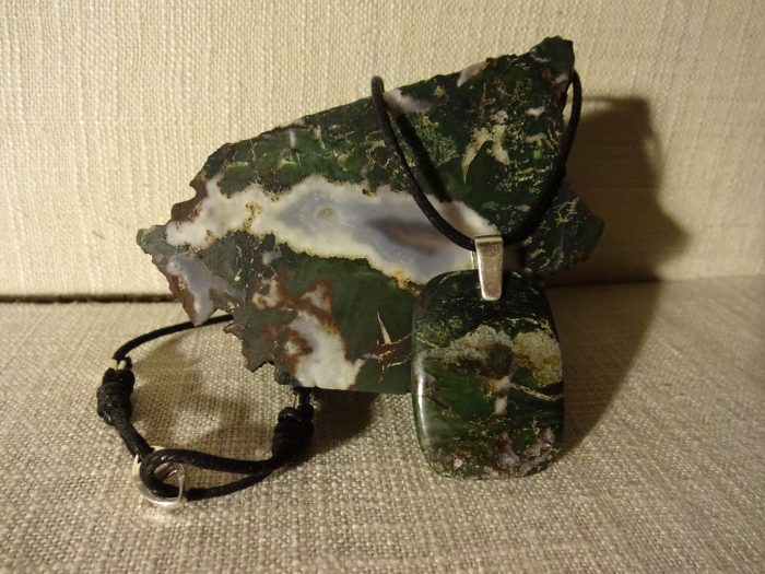McDermitt Petrified Wood Necklace - Natural Stone