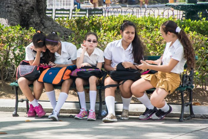 After School, Cienfuegos, Cuba - 18 x 12 - Photograph