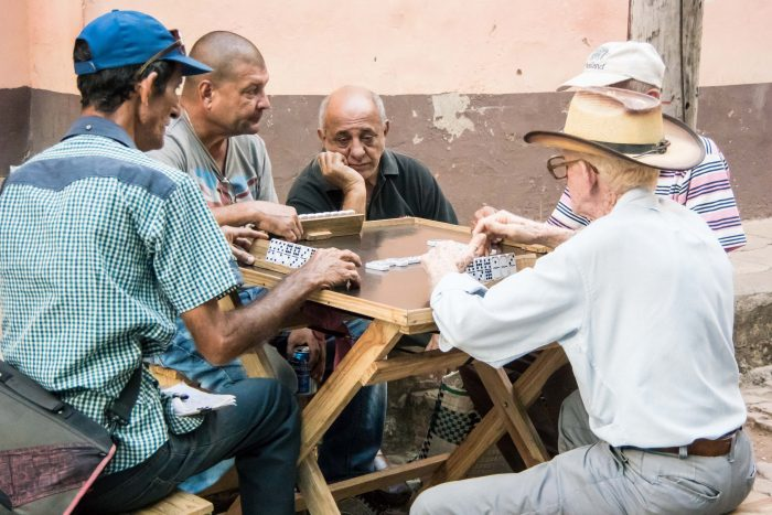 Dominoes, Trinidad, Cuba - 18 x 12 - Photograph
