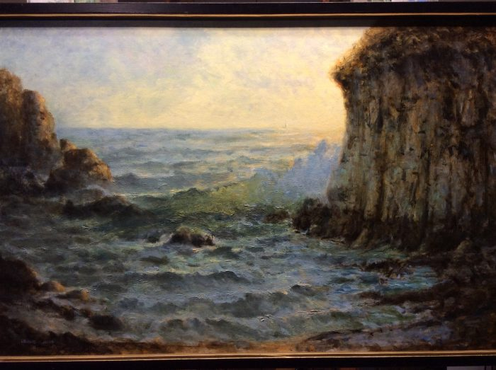 Seal Rock - 36 x 24 - Oil