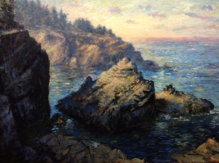 Shore Acres (near Coos Bay) - 36 x 24 - Oil