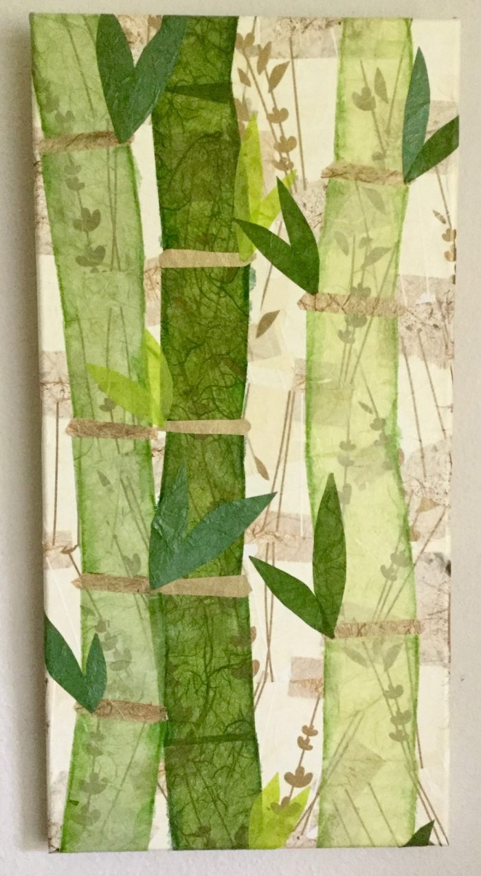 Bamboo Trio - 10 x 20 - Collage