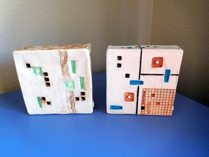 Wall Boxes - 6 x 6 x 2 - Ceramic