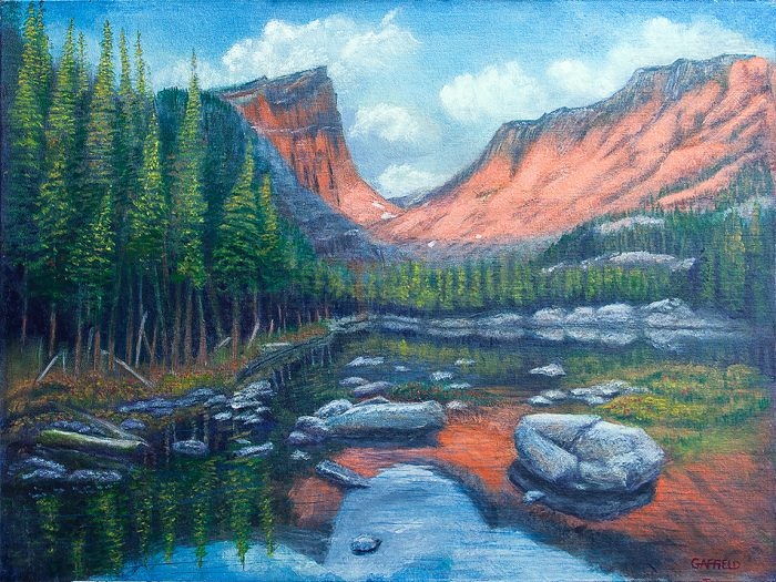 Rocky Mountain High - 24 x 18 - Acrylic