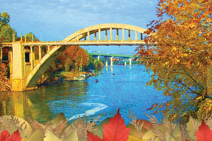 Arch Bridge - 30x20x1 - Photocollage