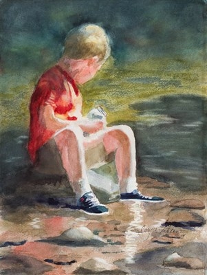 Caryn Tilton - Lazy Days of Summer - 18x24x3