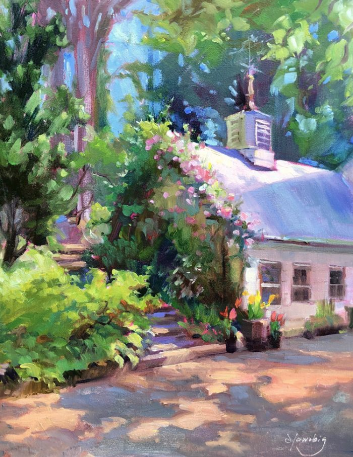 Cottage Charm - 14x11 - Oil
