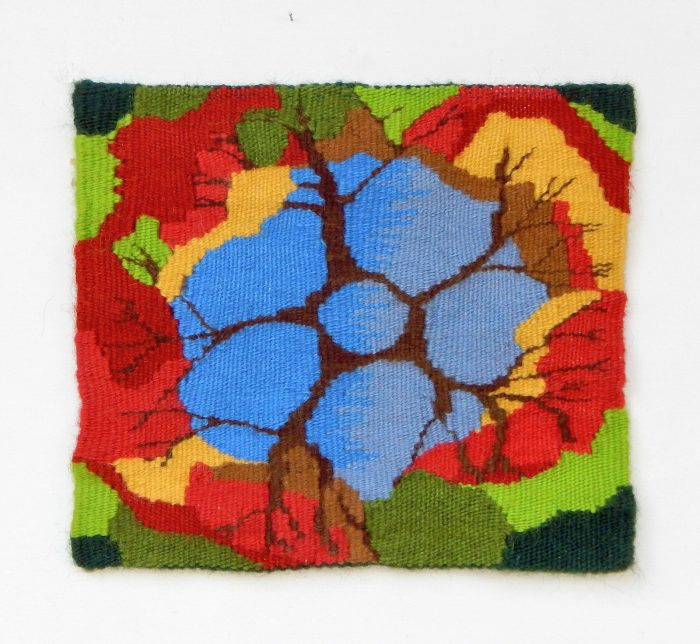 Lee Jordan - Retreat - 14x14 - Handwoven Tapestry