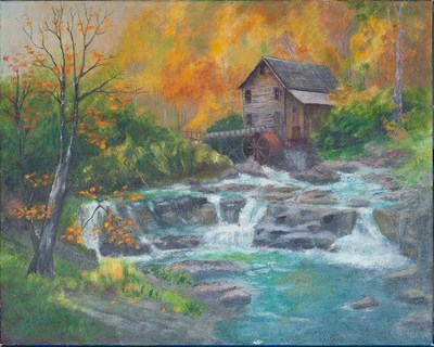 Old Grist Mill - 20x16x1