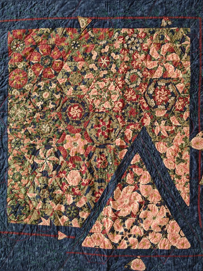Pam Duren - Quilts in the Garden - 42x45