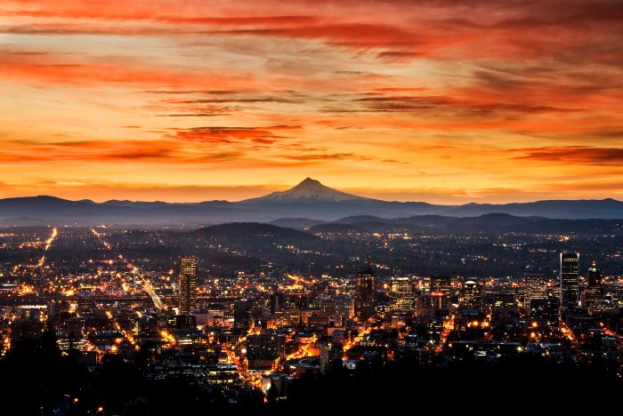 Portland from Pittock Mansion 2015 - 30x20 - Photography