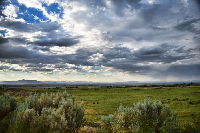 Storm Over the Nevada Great Basin - 16x20x2 - Photography.jpg