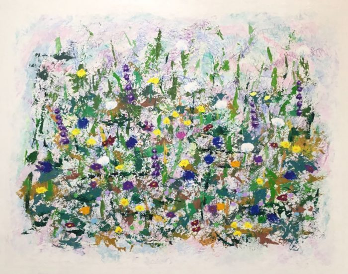 Wildflowers - 30x24 - Oil