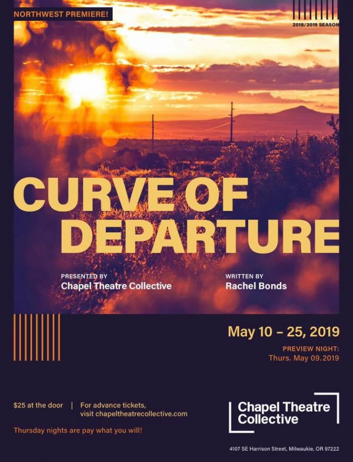 Curve of Departure Poster